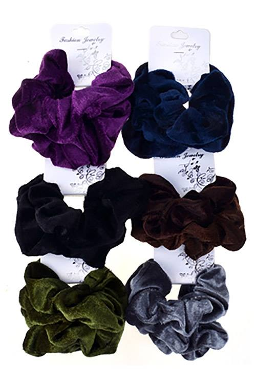 Solid Scrunchies Hair Tie-Bath & Body-Sweet Bee Boutique