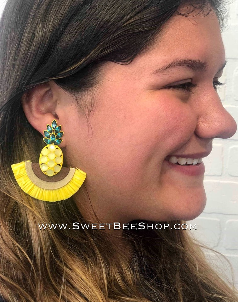Festive Fun Summer Earrings, jewlery - Sweet Bee Boutique