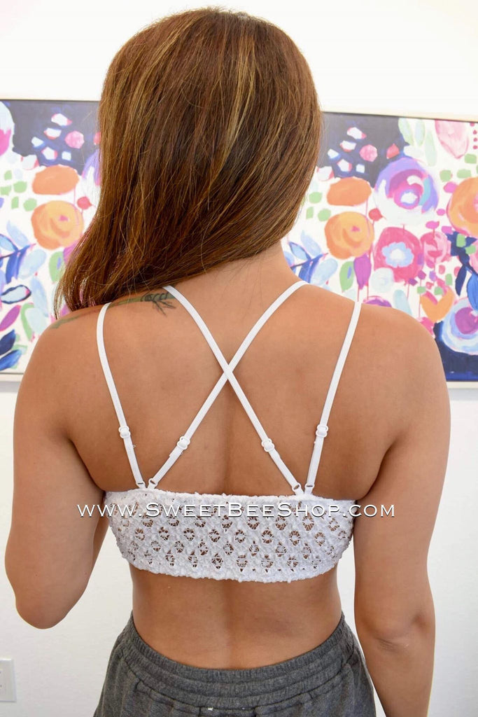 Beautiful Crochet Lace Bralette, bralettes - Sweet Bee Boutique