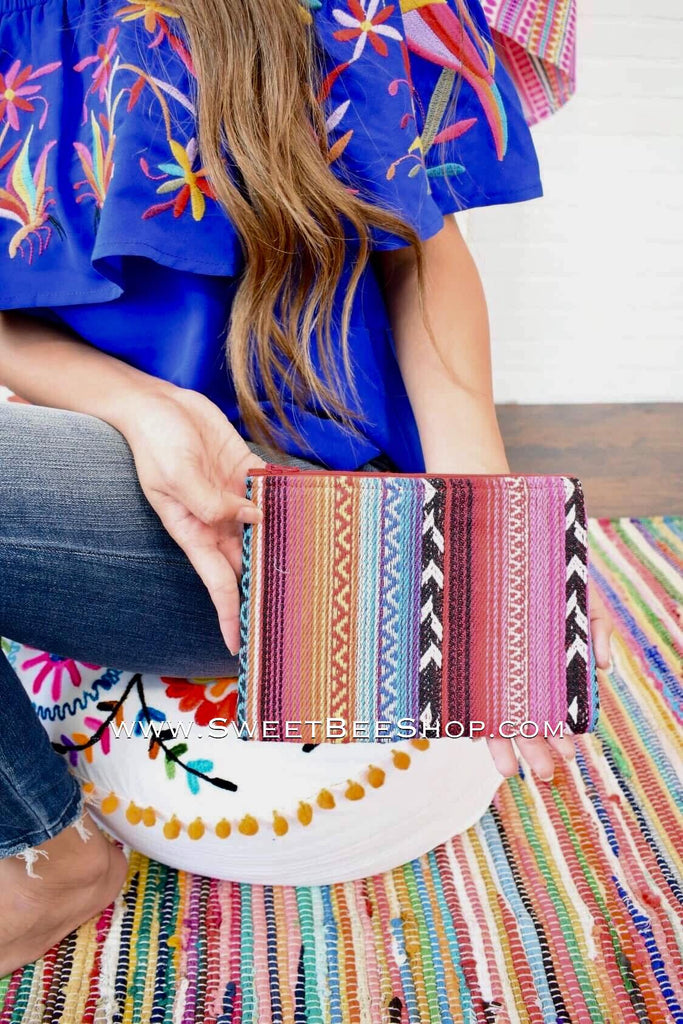 Serape Print Coin Pouch, Bags & Purses - Sweet Bee Boutique