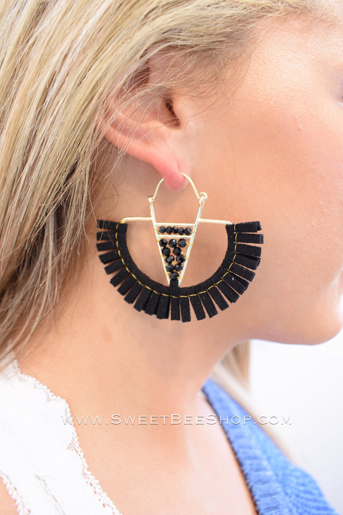 Variety Statement Tassel Earrings