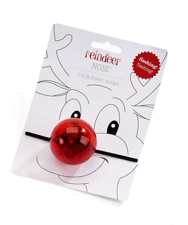 Flashing Reindeer Nose, Christmas Items - Sweet Bee Boutique