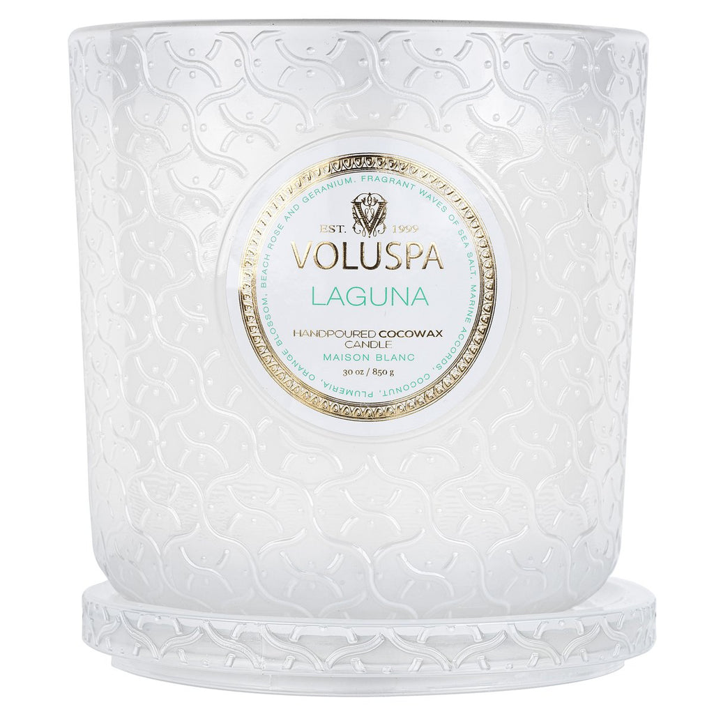 Voluspa Glass 30oz 3-Wick Candles