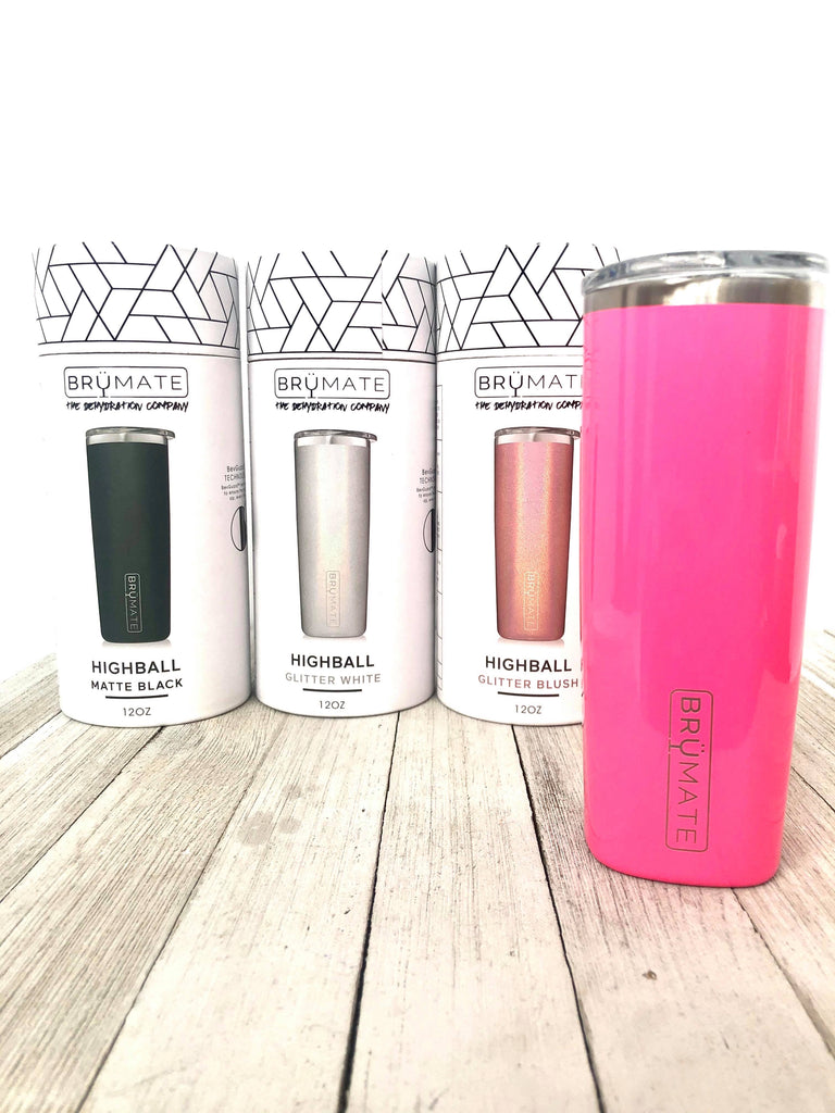 BruMate High Ball Tumbler | Glitters, Pink, and More