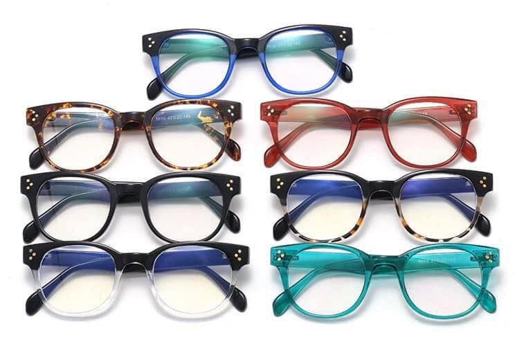 Clear Blue Light Lens Glasses With Various Frames