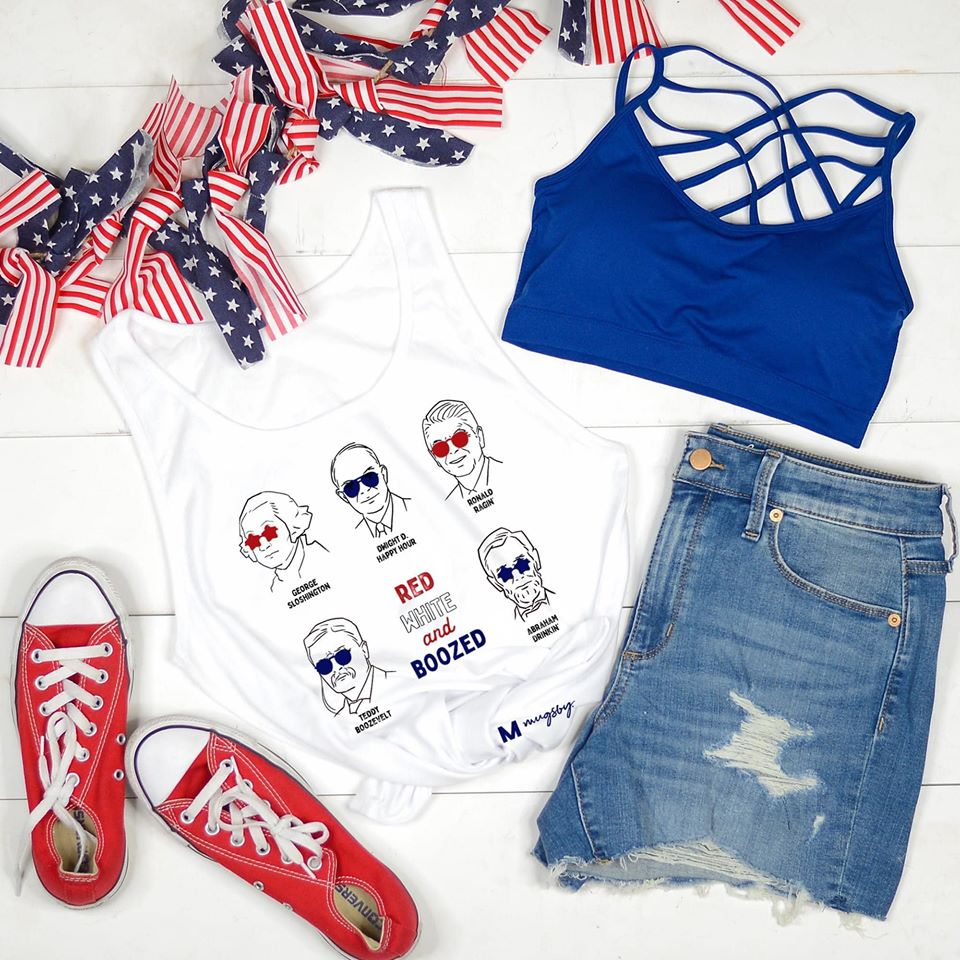 4th Of July Bella Canvas Tank Top