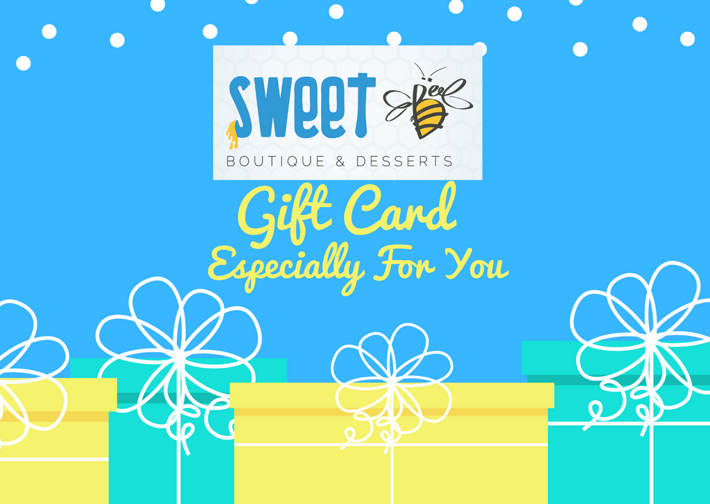 Sweet Bee Gift Card | Any Amount for Any Occasion