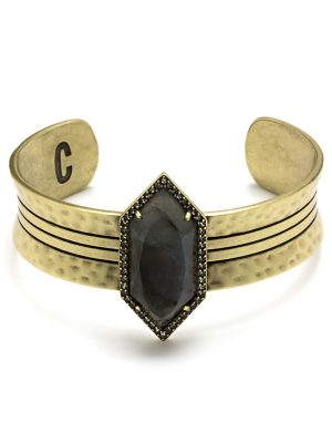 CosmoStyle Luna Spear Statement Cuff, jewelry - Sweet Bee Boutique
