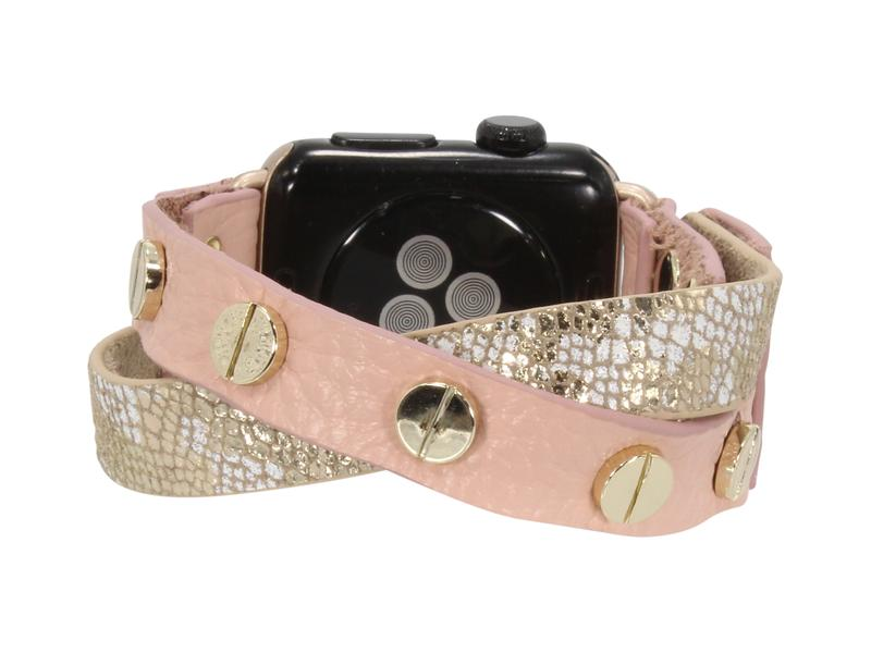 RESTOCK-Criss Cross Erimish Leather Apple Watch Bands-All bracelets-Sweet Bee Boutique
