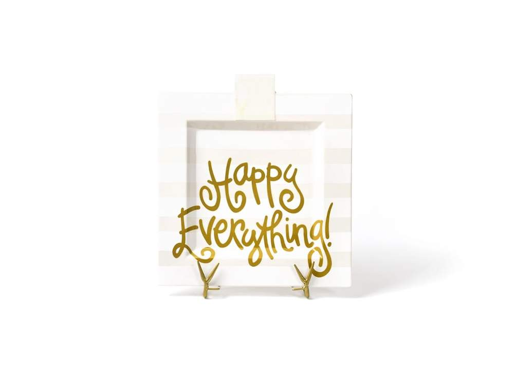 Happy Everything Square Platters