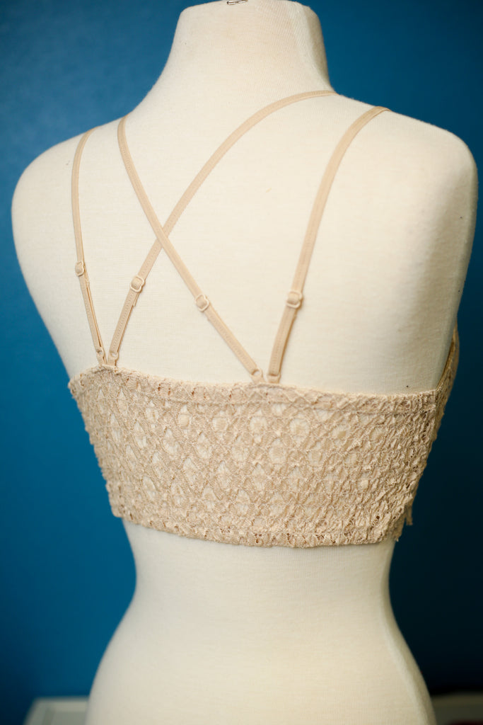 RESTOCK - Beautiful Crochet Lace Bralette