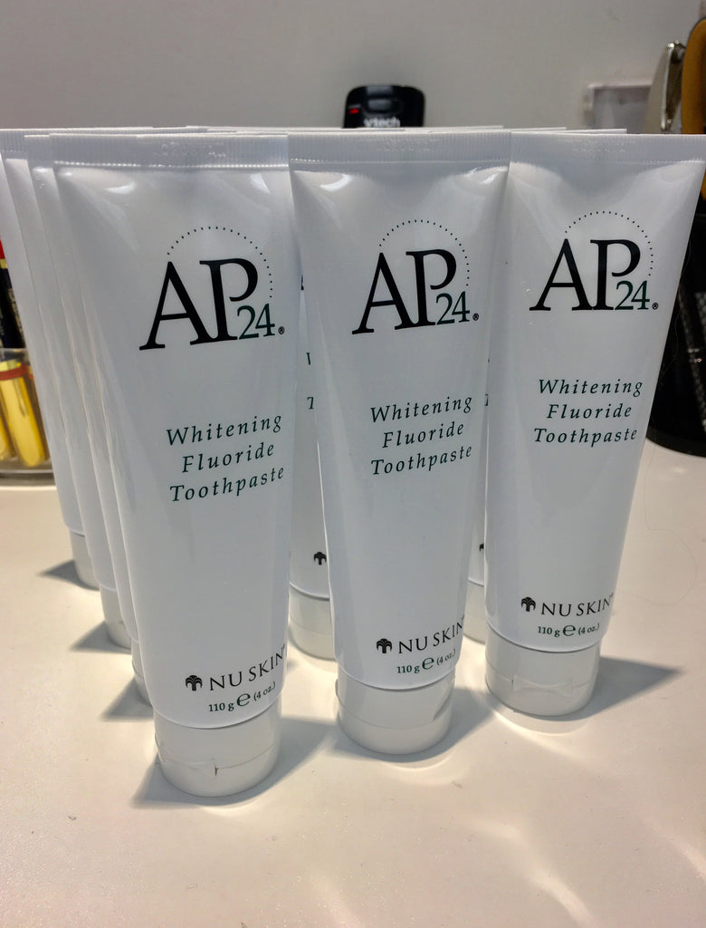 RESTOCKED Nuskin AP24 Whitening Toothpaste, Bath & Body - Sweet Bee Boutique