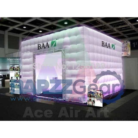 Portable Exhibition Games : Inflatable portable square advertising booth pub exhibition tent