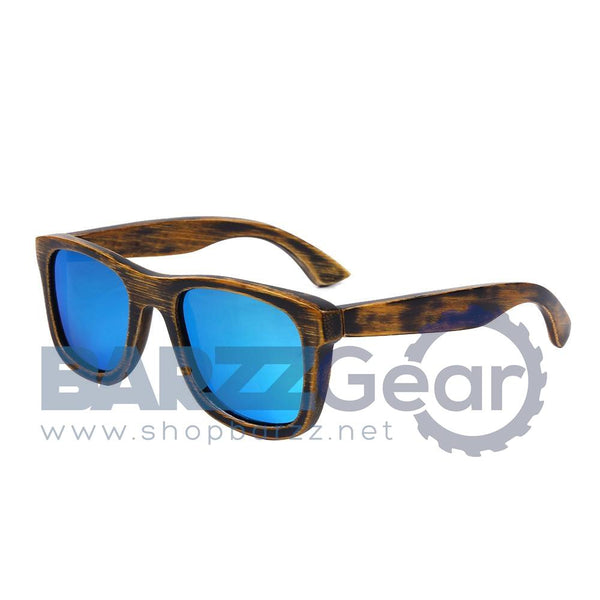 BerWer 2017 Designer Bamboo Wood Sunglasses Polarized Men women Wooden Glasses Coating Summer Style