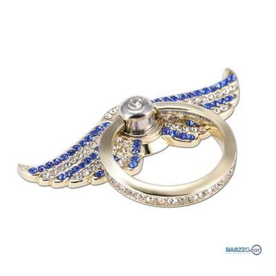 Wings Bling Cell Phone Ring Holder & Kickstand