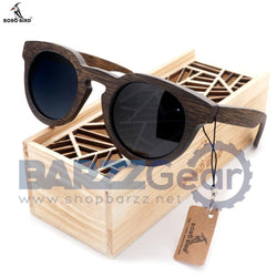 BOBO BIRD Bamboo Sunglasses Men Wooden Sunglasses Brand Designer Original Wood Polarized Sun Glasses Oculos De Sol Masculino