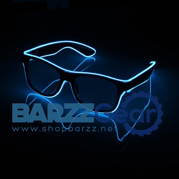 Standrad Flaring Glasses Bar Party Fluorescent Dance DJ Bright Glasses EL Wire  Neon LED Light Glow Atmosphere Activing Props