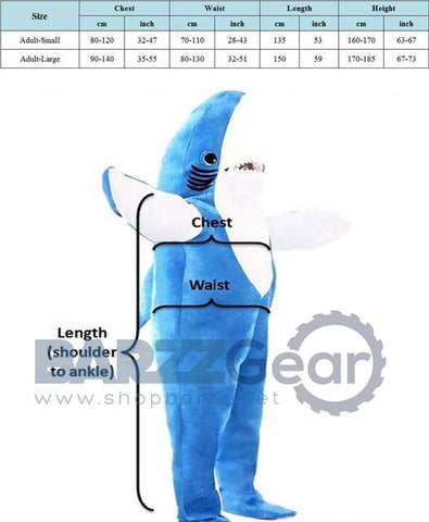 Adult Kids Attack Shark Costume Party Mascot Costume Blue Shark Animal Costume Jumpsuit Halloween Fancy Dress Mascotte Pajamas