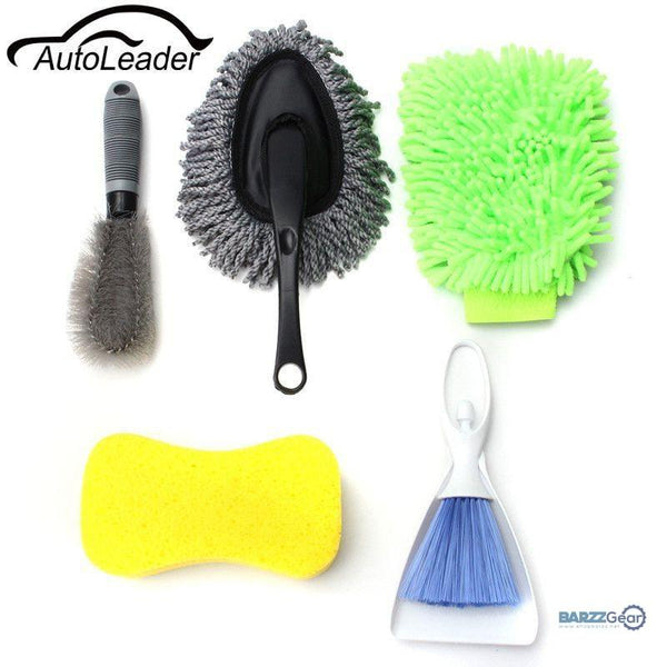 Car Cleaning Kit Set Products Tools 8pcs