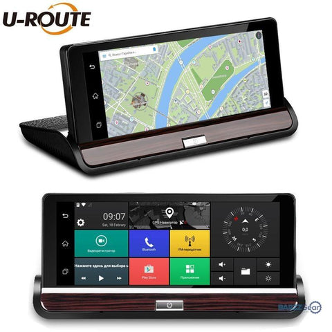 Car DVR Camera Android GPS Video Recorder Bluetooth Dual Lens