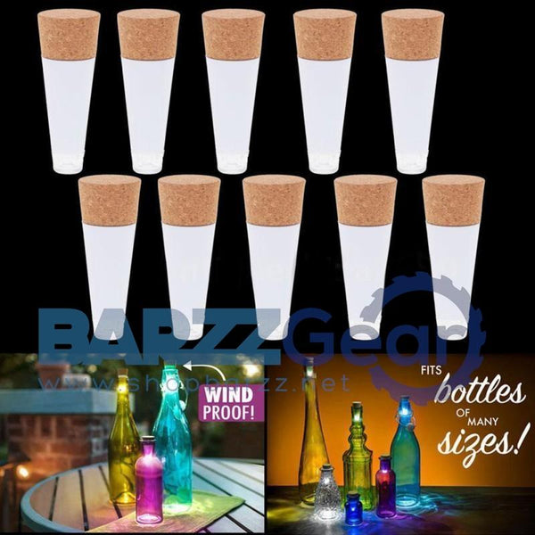 Cork Shaped Rechargeable USB LED Night Light Wine Bottle Lamps Party Decor 1 Pc