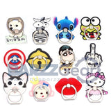 Cartoon cute Metal Ring Universal Mobile Cell Phone Stand Holder for Smartphone&Samsung&iphone Adjustable Support Phone Holder