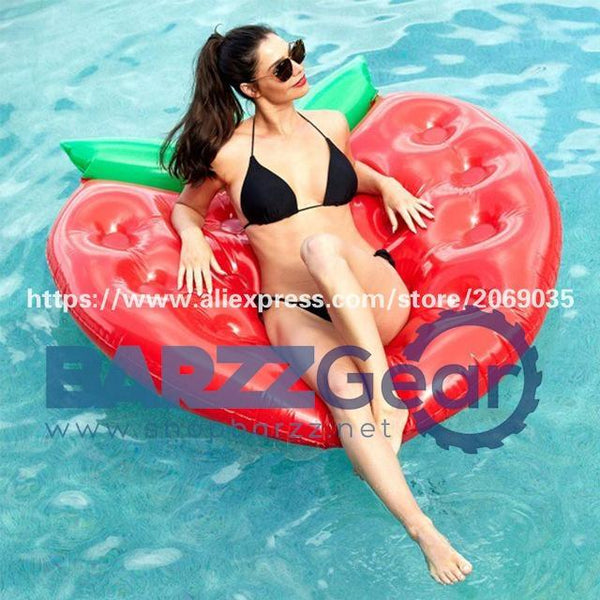 22 Style Giant Swan Watermelon Floats Pineapple Flamingo Swimming Ring Unicorn Inflatable Pool Float For Child&Adult Water Toys
