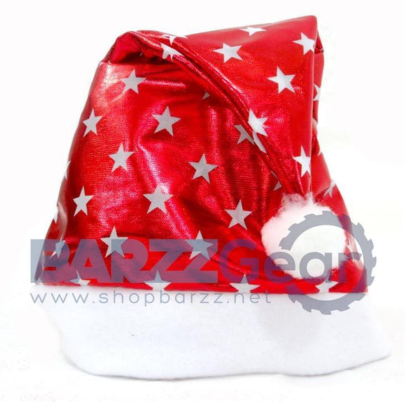 Christmas Party Santa Hat Red And White Cap for Santa Claus Costume New