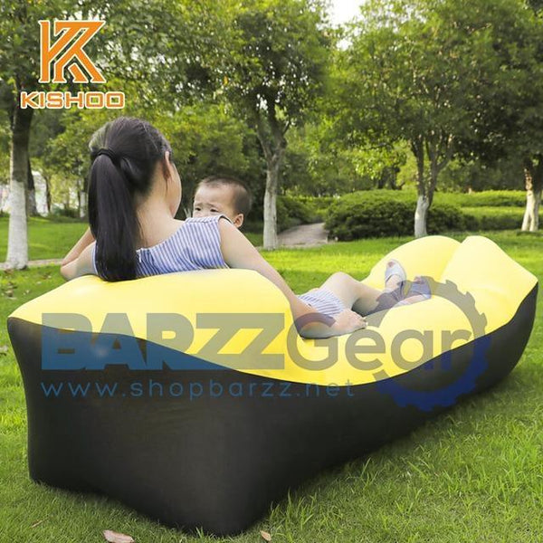 Lazy Beach bed Air Sofa Lounge Camping of sleeping air lounger infl
