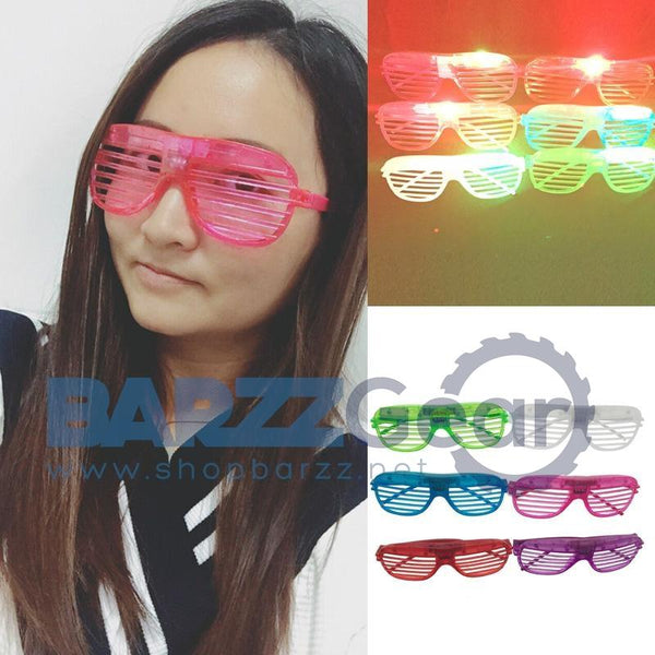 Costume Leds 30pcs/lot Hot Sale Led Light Glasses For Christmas Birthday Halloween Party Decoration Supplies Glow Free Shipping