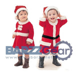 Christmas Children Clothing Set  2pcs Christmas Baby Girl Clothes Set Santa Claus Dress Hat New Year's Costumes for Boys Girls