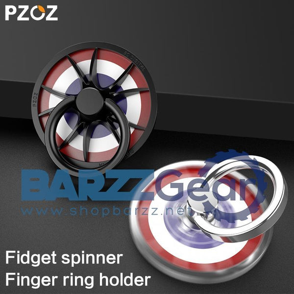 PZOZ Metal Finger Ring Holder hand spinner gyro Stand cell for iphone 6 7 X Samsung S8 Finger Spinner Mobile Phone Ring Holde