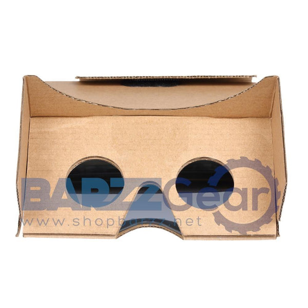 3D AR Augmented Reality DIY Paper Box AR Headset for 3D Movies and Games Up to 6 Inches Designed for ARkit/ ARcore