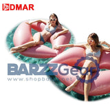 DMAR 180cm Inflatable Lips Giant Pool Float Toys Swimming Ring Circle Inflatable Mattress Water arty Adults Kids Beach