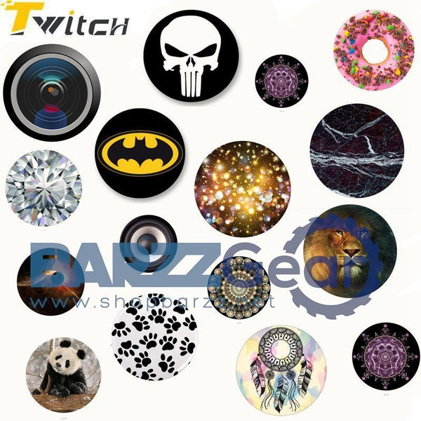 Twitch Music Purple Phone holder Colorful Fashion pop mount Tablet pc MP3 Finger ring phone holder New Arrival