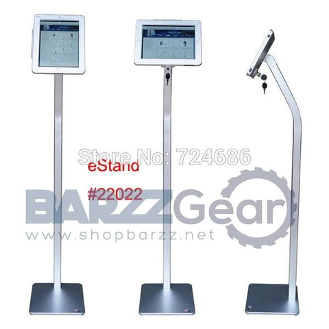 for iPad 2/3/4/air/pro 9.7 inch tablet security floor stand display kiosk standing support with lock anti-theft enclosure