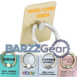 Customizable Phone Finger Ring Bracket(Your LOGO) 360 Degree Smartphone Holder 100Pcs
