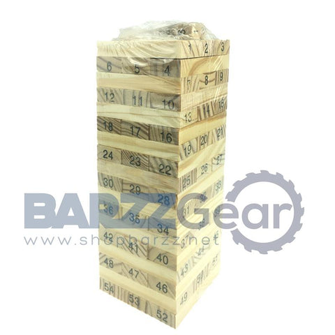 BARZZ BLOX Tower Toy 54pcs (Jenga)
