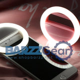 Universal Rechargeable Selfie LED Flash Light Up Mobile Phone Selfie Luminous Ring Clip For iPhone 8 8x 7 6 6S Plus Samsung