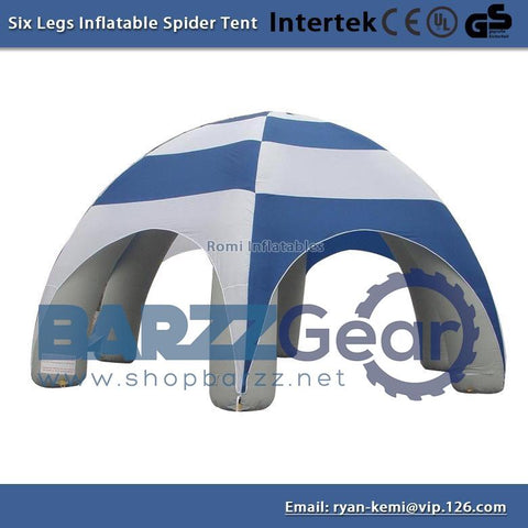 6x3mH inflatable spider tent advertising Inflatable tent Inflatable party tent Outdoor events tent