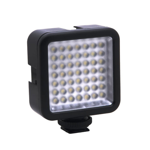 5.5W 800lm 6000K Photography Lighting Mini Portable 49 LED Video Light Lamp Photographic Photo Light for Camera Photography