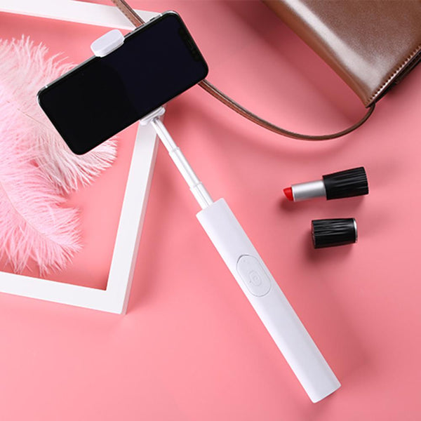 Portable Extendable Selfie Stick for Xiaomi iphone X 7 8 plus for Samsung Galaxy s8 Selfie Stick Wireless Remote Selfie Shutter