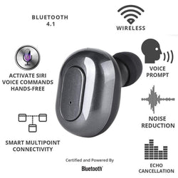 headset Wireless Bluetooth earphone Binaural Sports Bluetooth Earbuds Stereo Mini in ear earphone With Portable Charging Box