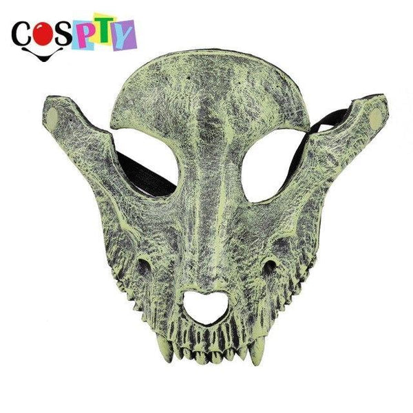 Cospty Mascaras Disfraces Festival Day of The Dead Halloween Party Masquerade Creepy Horror Terror Scary Costume Skull Mask