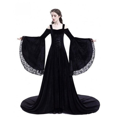 ... Cosplay Halloween Dress Medieval Palace Princess Dress Adults Women  Gothic Queen 2018 Plus Size 4xl 5xl ... e926080fc902