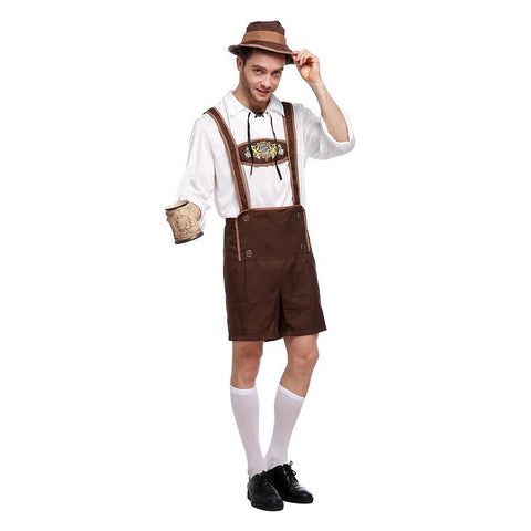 Oktoberfest Halloween Costume Adult's Stage Performance Clothing For Men
