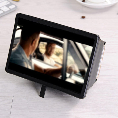 Best quality 3D HD Movie Video Amplifier With Foldable Holder Stand Cell Phone Screen Magnifiers