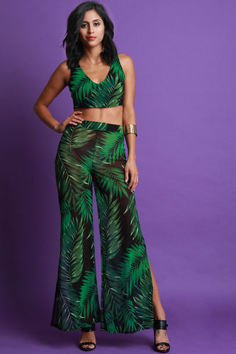 Palmer Two Piece Palazzo Pants Set