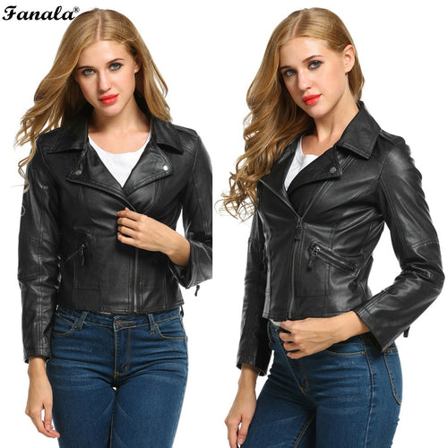 2017 Autumn Motorcycle Leather Jacket