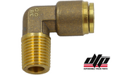 90 Degree Male Elbow Brass PTC Fitting